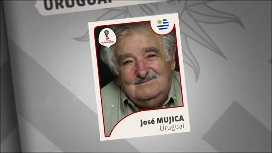 Ex-presidente José Mujica entra para o álbum de figurinhas do Estúdio i