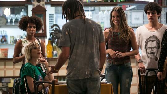 Jamaica atrapalha encontro de Lu e Adele