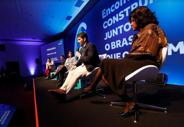 Debate em Encontro Anual de Líderes Fundação Lemann (Foto: Divulgação/Fundação Lemann)