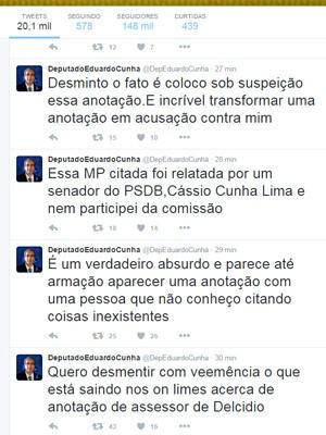 Deputado comentou caso em seu perfil pessoal do Twitter (Foto: Reprodução/Twitter)