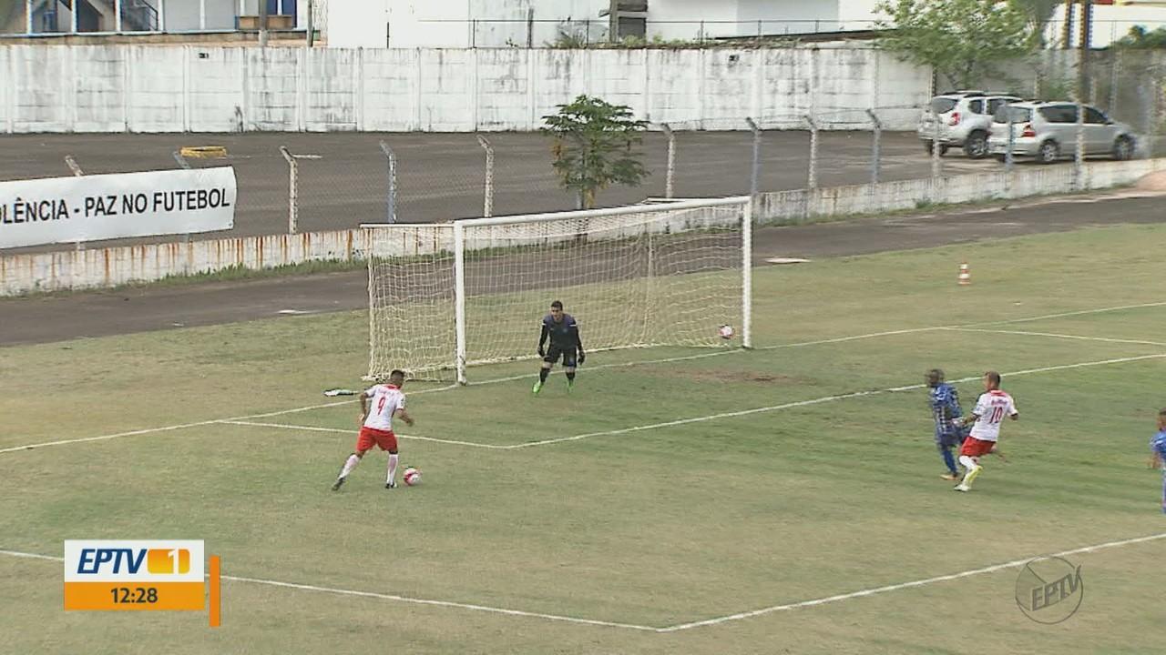 Rio Claro empata sem gols em casa com o RB Brasil pela Copa Paulista
