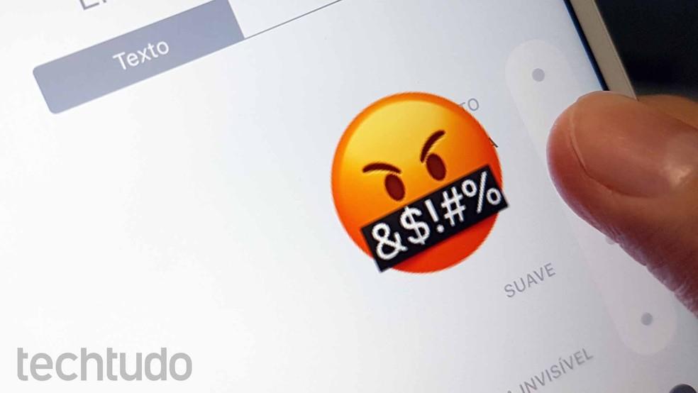 Emojis podem ser interpretados de maneiras diferentes (Foto: Ana Marques/TechTudo)