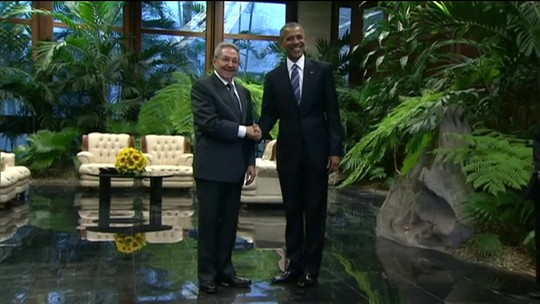 Visita de Barack Obama a Cuba completa três anos nesta quarta (20)
