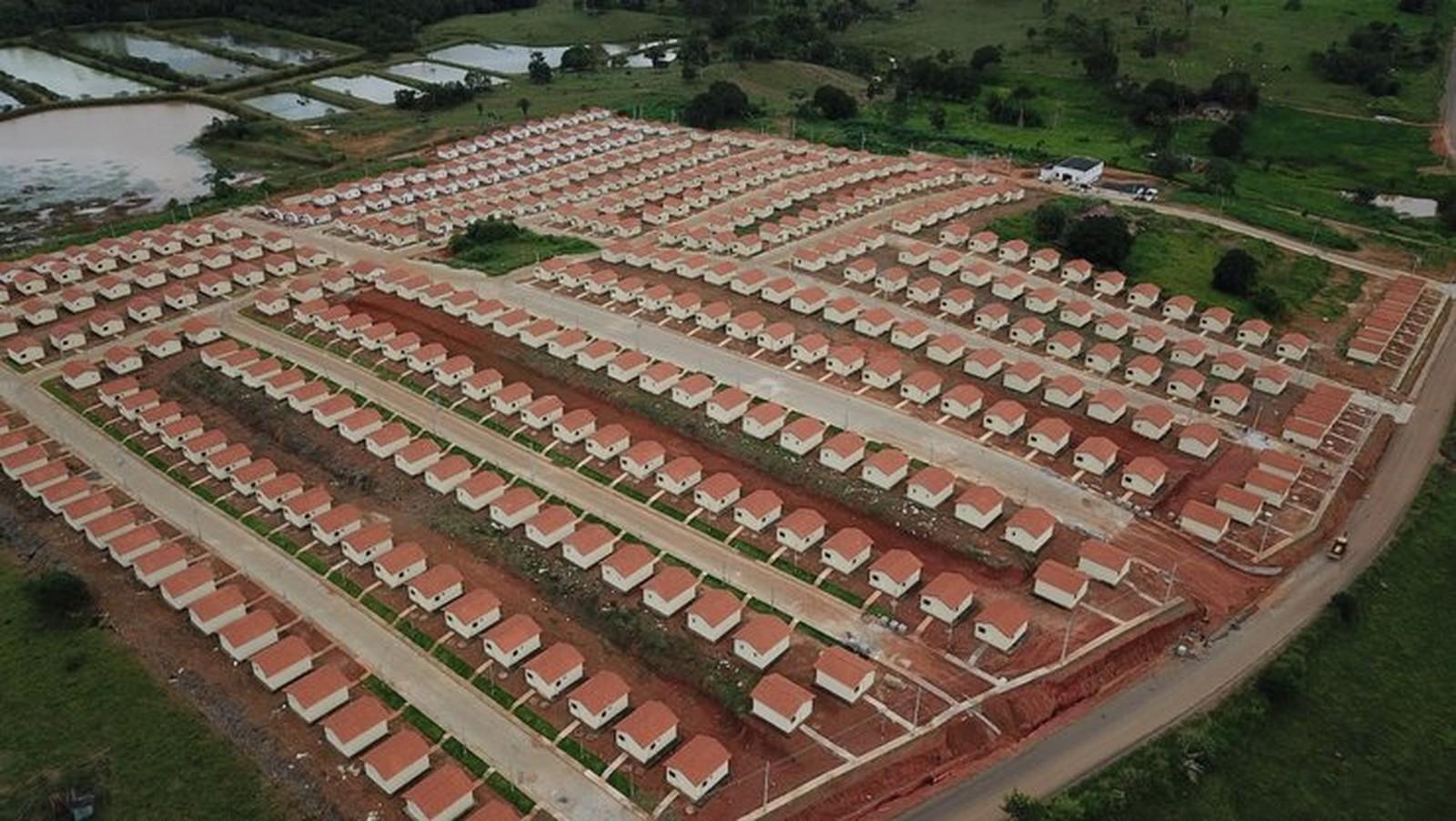Quase 400 casas do Programa Minha Casa Minha Vida são entregues em Jaru, RO - Noticias