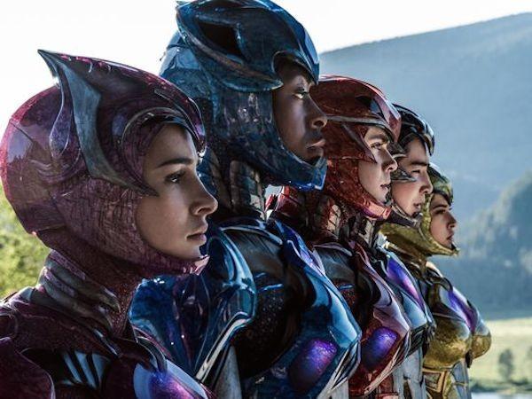 Os heróis do filme 'Power Rangers' (Foto: Reprodução)