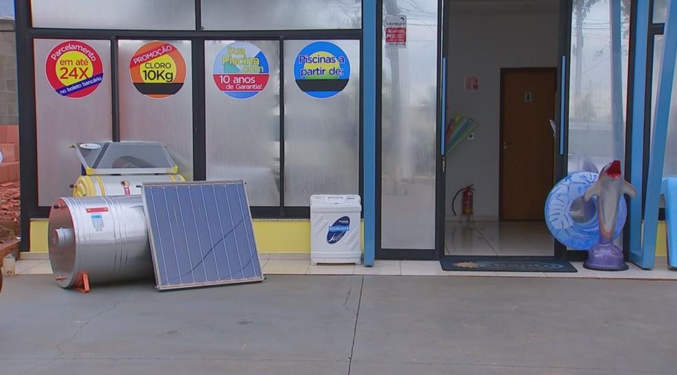 Sistema de aquecimento solar é procurado por moradores de Boituva — Foto: Reprodução/TV TEM
