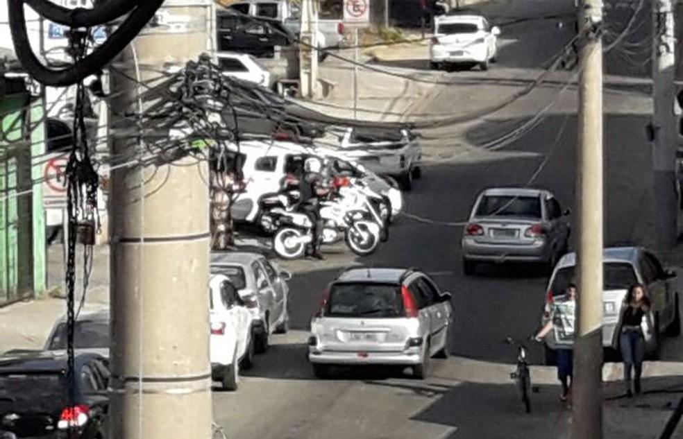 Crime aconteceu no bairro Campos de São José (Foto: Divulgação/Central de Informações)