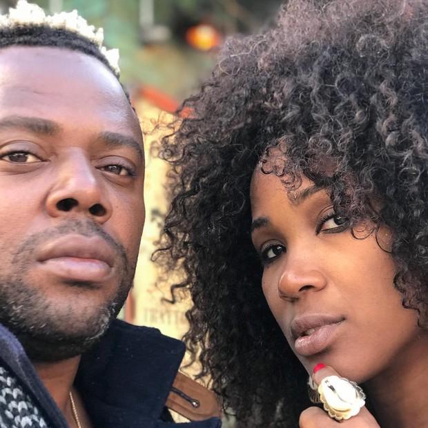 Érico Brás e Kenia Maria (Foto: Reprodução/Instagram)