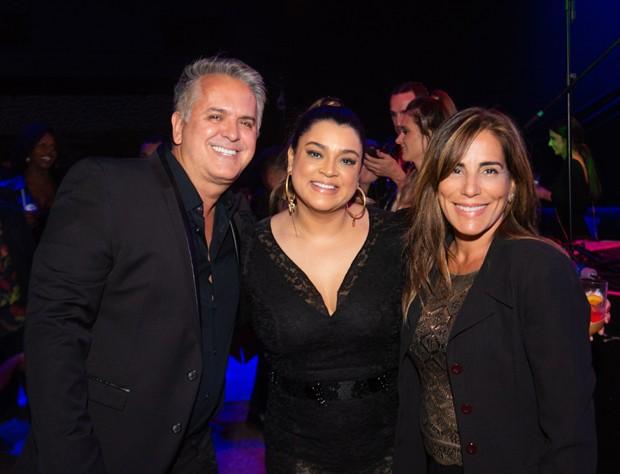 Orlando Morais, Preta Gil e Gloria Pires (Foto: V RebeL/Divulgação)