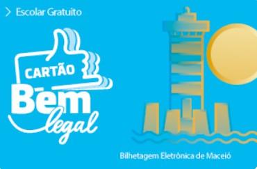 SMTT libera uso do cartão Bem Legal Escolar em Maceió