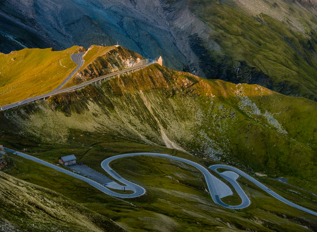 The Glossglockner High Alpine Road, na Áustria (Foto: Thinkstock)