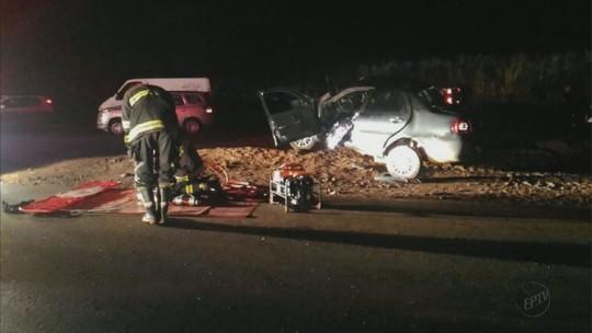 Casal morre após colisão na Estrada Vicinal Ivo Morganti, em Ibaté