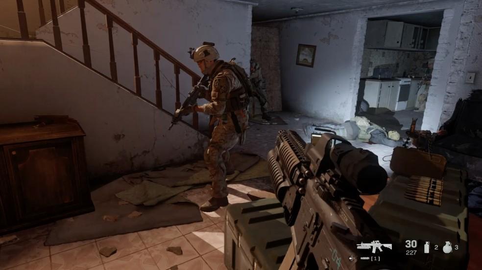 Call of Duty Modern Warfare tem gráficos realistas — Foto: Reprodução / TechTudo