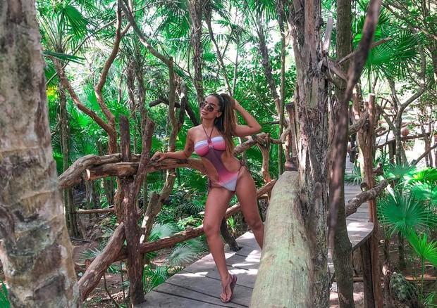 Anitta em Tulum (Foto: Reprodução/Instagram)