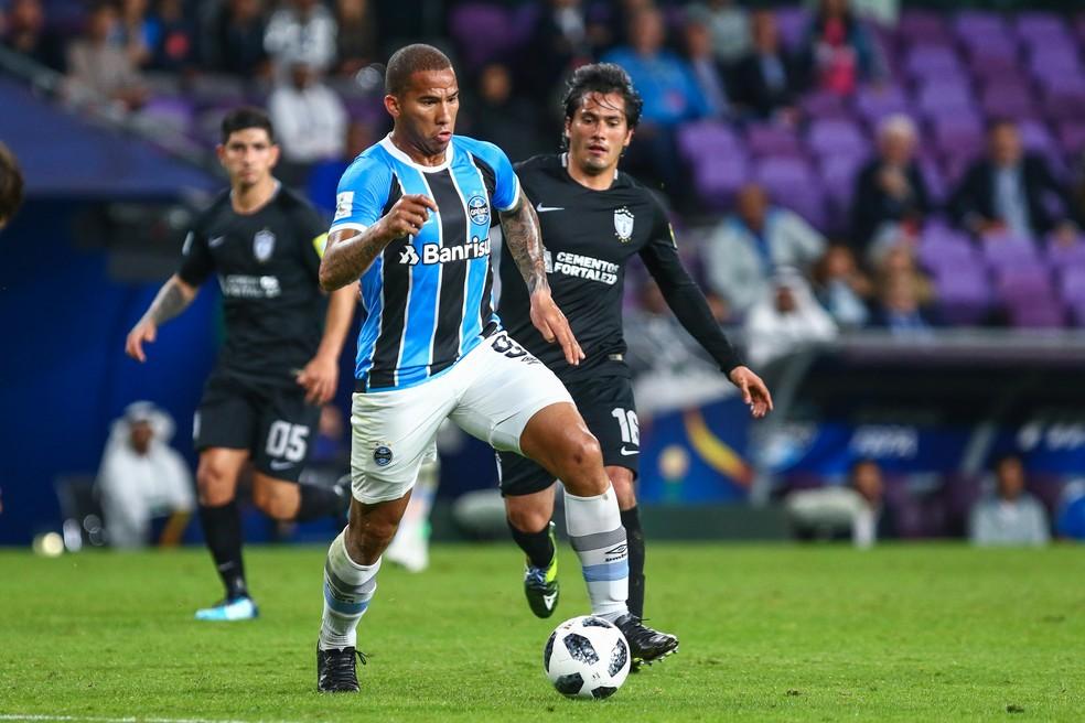 Jael cresceu durante o fim do ano (Foto: Lucas Uebel/Grêmio/Divulgação)