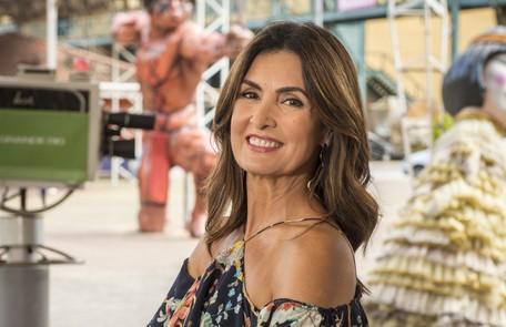 Fátima Bernardes será uma das convidadas de Tatá Werneck, que começará a gravar ainda em abril, em seu terceiro mês de gestação TV Globo