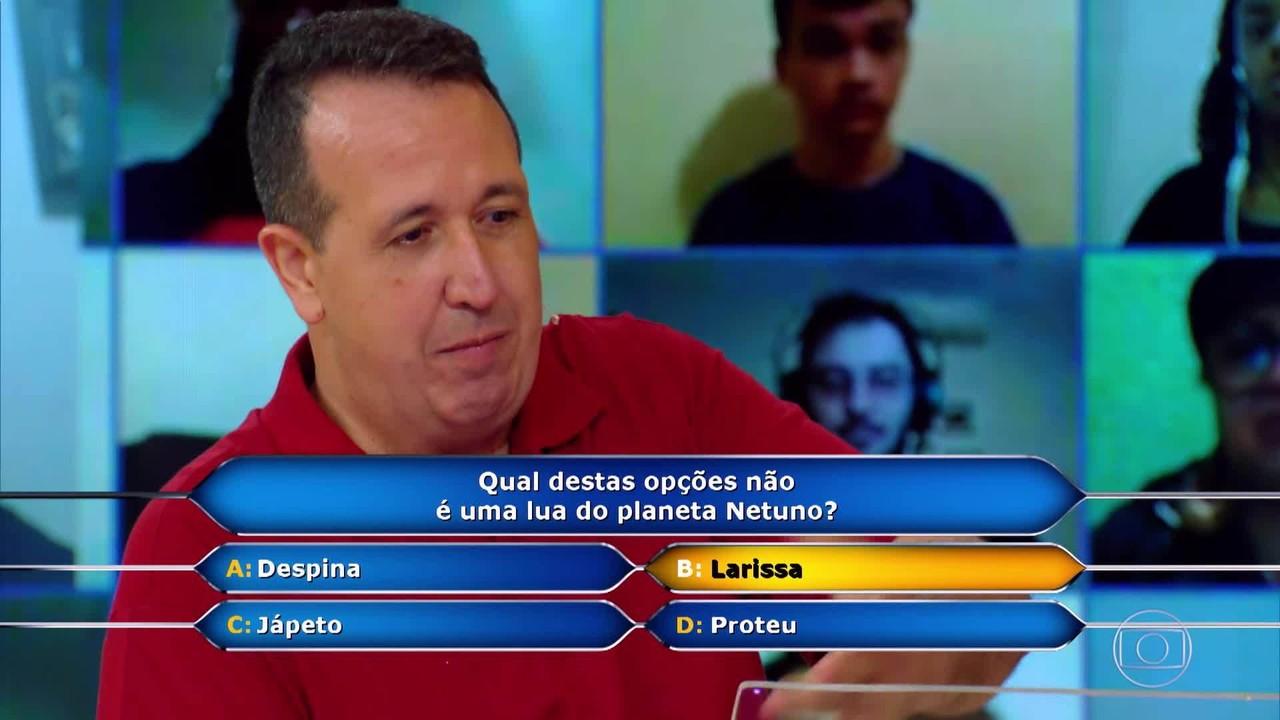 'Quem Quer Ser Um Milionário?': Ismael Menezes continua na busca pelo milhão