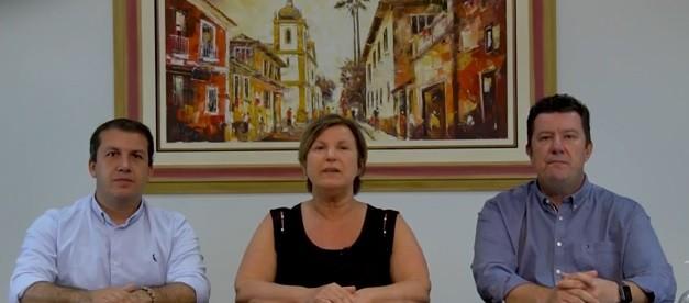 Prefeitos de Palhoça, São José e Biguaçu anunciam que quarentena será mantida nos municípios