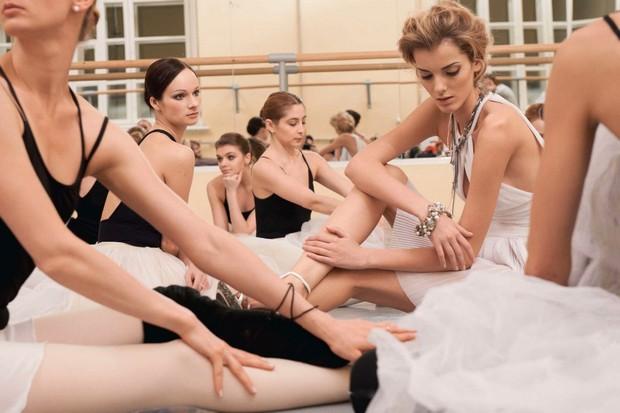 Balé é tendência forte da temporada (Foto: Vogue Russia )