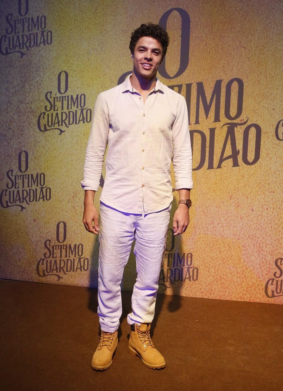 Matheus Abreu interpretará Maltoni em 'O Sétimo Guardião' — Foto: Fabiano Battaglin/Gshow
