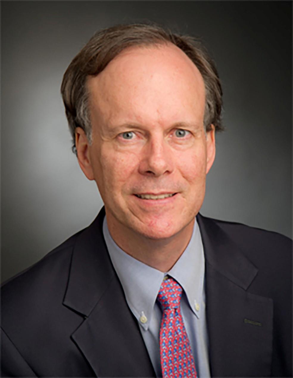 O cientista William Kaelin, um dos vencedores do prêmio nobel de Medicina deste ano. — Foto: Harvard University/Handout via Reuters