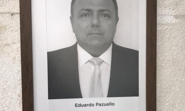 A foto de Pazuello