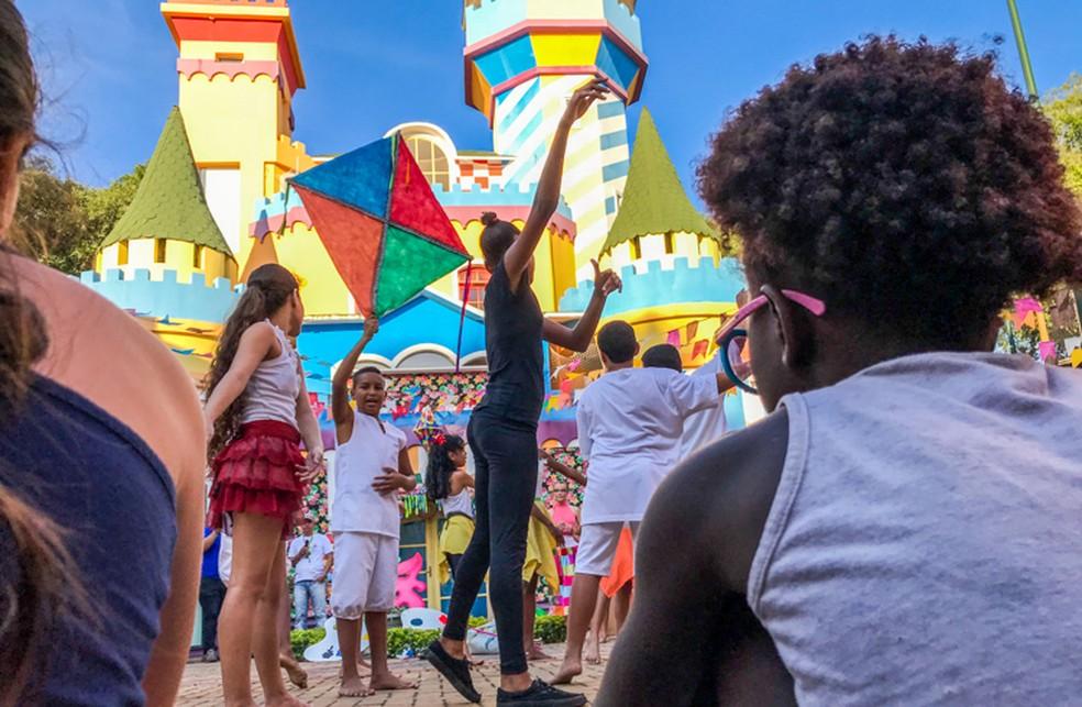 A Cidade da Criança terá música, dança, teatro e contação de histórias  — Foto: Divulgação/Prefeitura de Campos