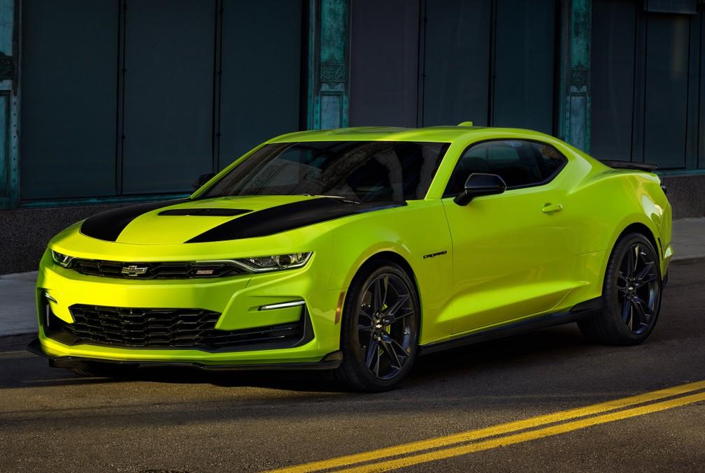 Chevrolet Camaro Shock: conceito foi a inspiração — Foto: Divulgação/Chevrolet