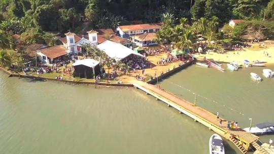 'Revista' esteve no Festival do Camarão, em Paraty. Veja mais
