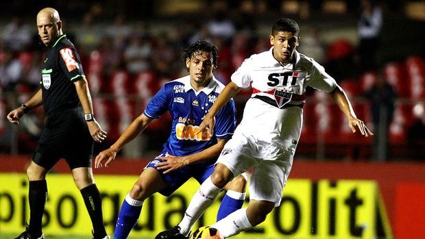 Denilson são paulo Ricardo Goulart cruzeiro série A (Foto: Celso Pupo / Agência Estado)