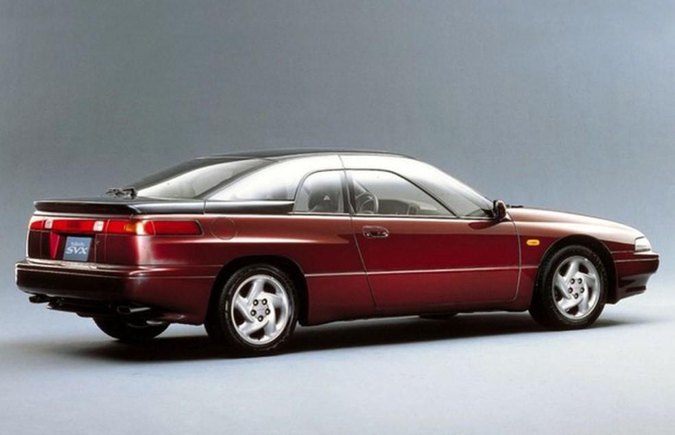 Clássico do dia: Subaru SVX   Carros   autoesporte