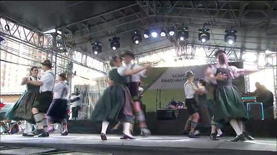 "Há 20 anos, ""Maifest"" celebra cultura alemã"