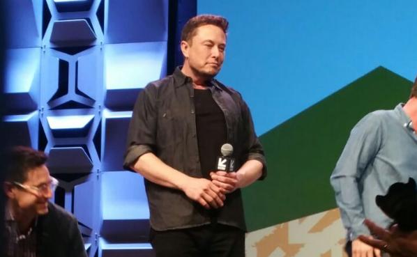 Elon Musk no SXSW: empresário fez aparição surpresa (Foto: Época Negócios)