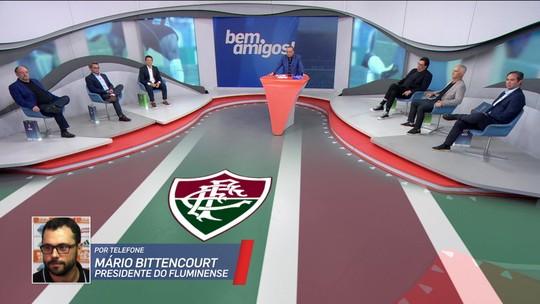Presidente do Fluminense, Mário Bittencourt se pronuncia sobre demissão de Oswaldo e polêmica com Ganso