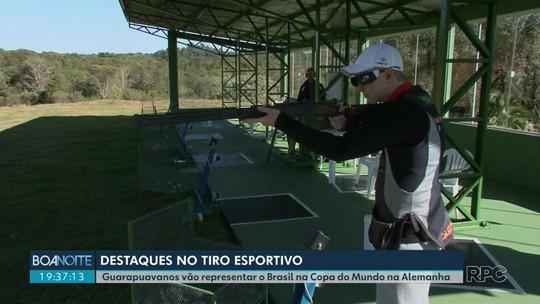 Guarapuavanos representam o Brasil em modalidade de tiro esportivo