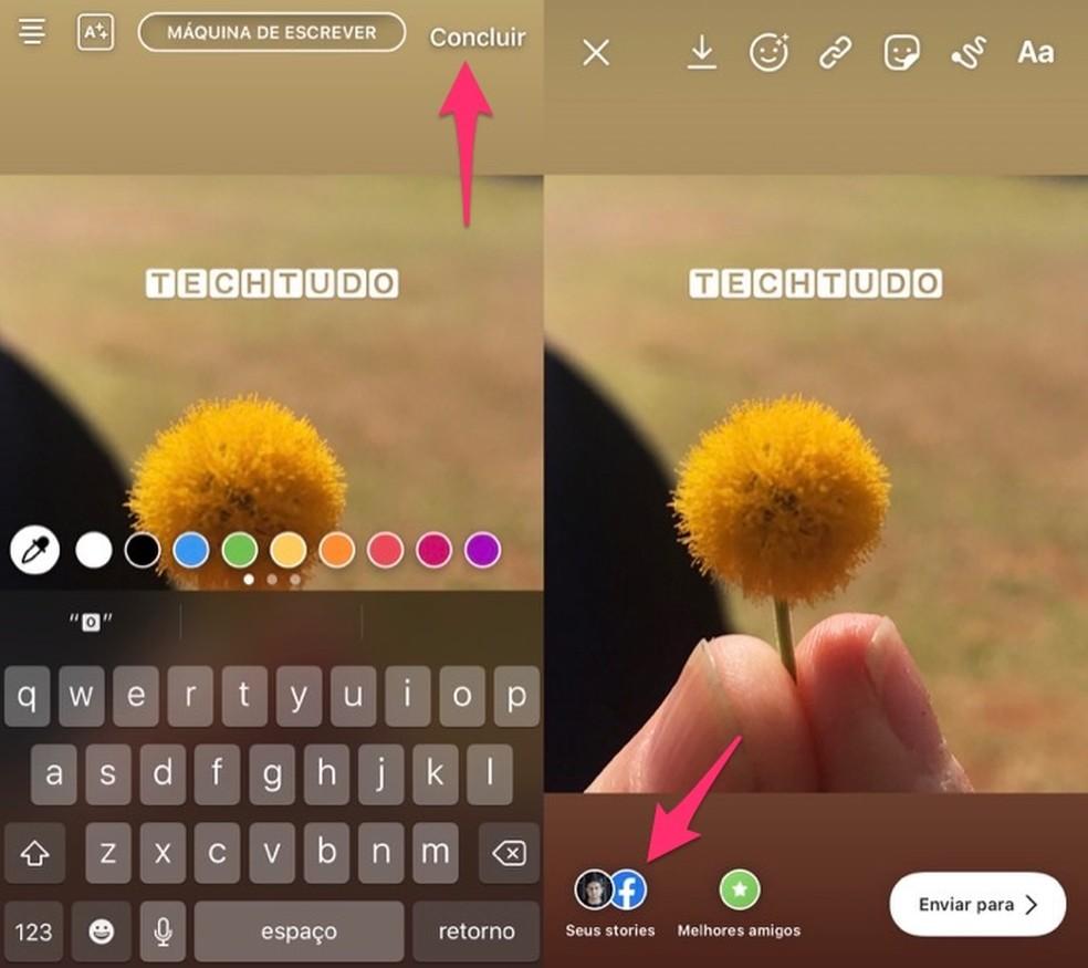 passo 7 - Instagram: Como Mudar a Letra do Instagram?