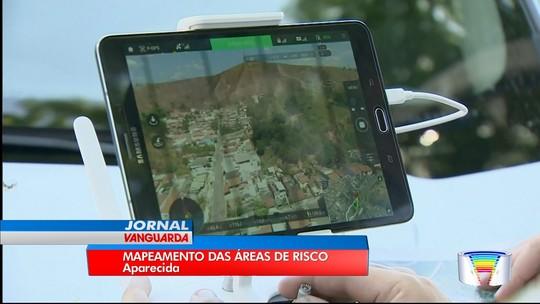 Instituto faz mapeamento de áreas com risco de deslizamento em Aparecida