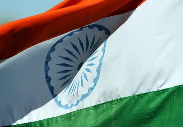 Bandeira da Índia (Foto: Simon Cross/Getty Images)