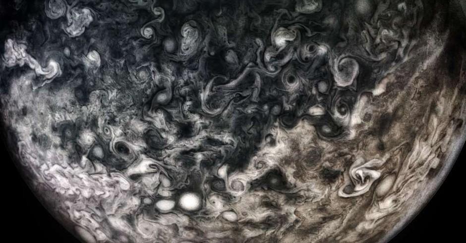 Júpiter (Foto: NASA/SwRI/MSSS/Shawn Handran/ Divulgação)