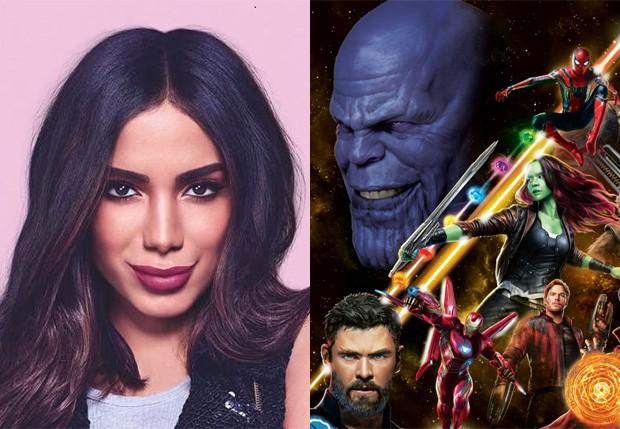 Anitta dá spoilers de Vingadores: Guerra Infinita (Foto: Reprodução)