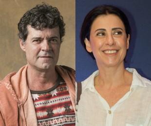 Felipe Camargo e Fernanda Torres | TV Globo