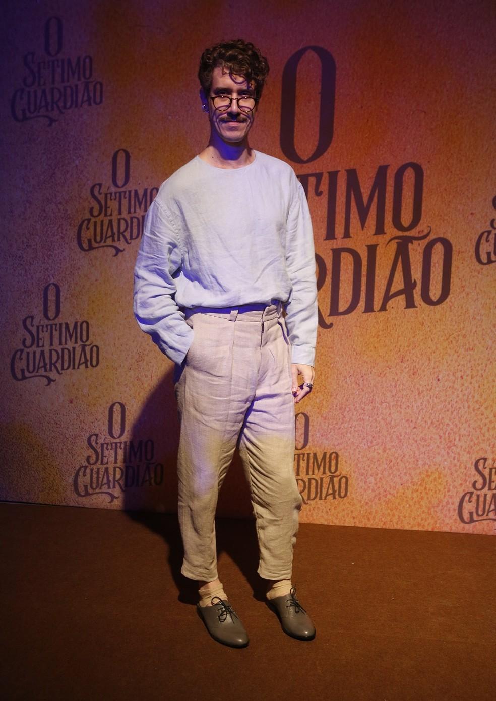Theodoro Cochrane será Adamastor em 'O Sétimo Guardião' — Foto: Fabiano Battaglin/Gshow