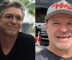 Boninho e Rubens Barrichello | Reprodução