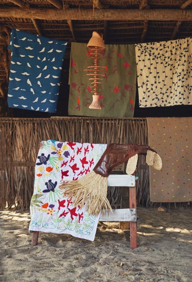 Decoração revela o melhor do artesanato do Piauí (Foto: Loiro Cunha)