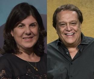 Maria Helena Nascimento e Dennis Carvalho | Mauricio Fidalgo e João Cotta/ TV Globo