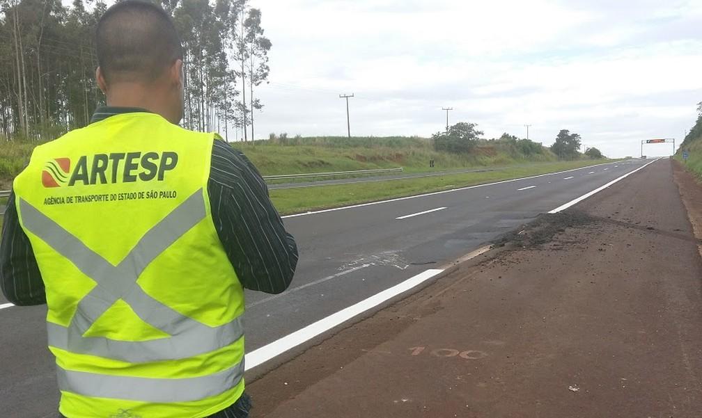Artesp encontrou irregularidades na Rodovia Raposo Tavares (SP-270) (Foto: Divulgação/Artesp)