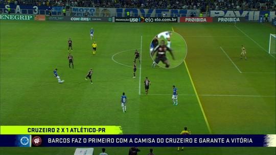 Comentaristas analisam polêmicas na vitória do Cruzeiro sobre o Atlético-PR