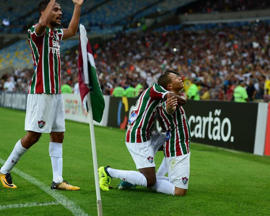 Em noite de homenagens para Abel, Flu vence o Atlético-GO, no Maracanã