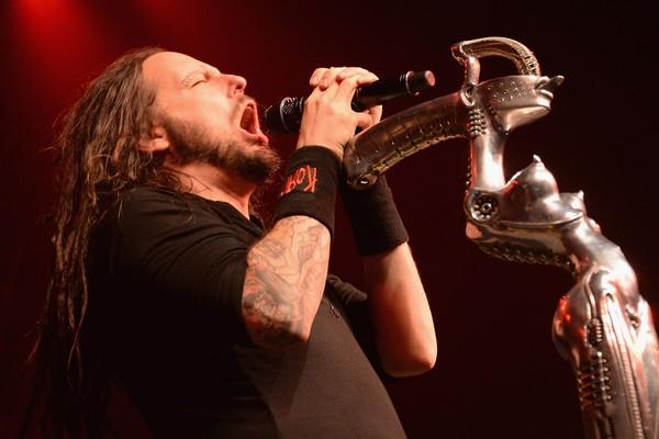 Jonathan Davis da banda Korn (Foto: Getty Images)