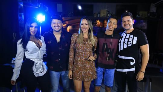 Veja os bastidores do clipe Garçonete, do cantor Peruanno em parceria com Devinho Novaes